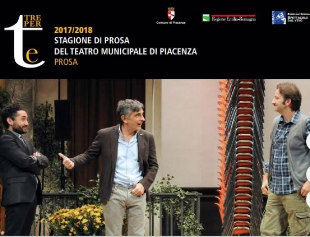 UNA FESTA ESAGERATA…! Al  Teatro Municipale di Piacenza  martedi  20 febbraio