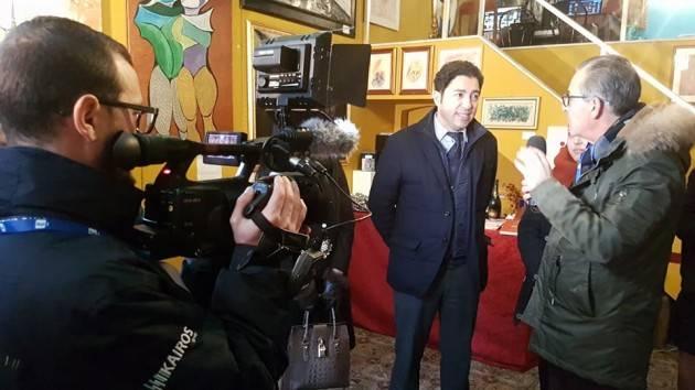 Il  Festival dell'Arte di Sgarbi nel cuore di Sanremo,  alla Milano Art Gallery di Christian Flammia