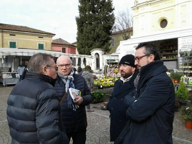 Matteo Piloni (Pd)  fa tappa a Castelleone, Sesto ed Uniti e corte de Frati