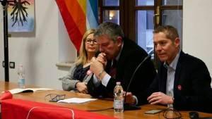 Onorio Rosati (Liberi e Uguali) a Cremona spiega le ragioni del no a Gori