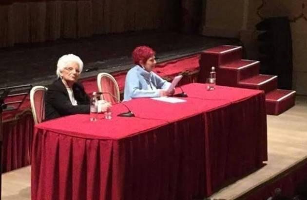 Grande emozione  fra gli 800 studenti al racconto di Liliana Segre al Ponchielli di Cremona
