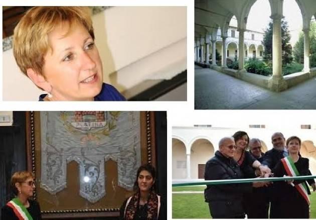 Ivana Cavazzini , sindaco di Piadena, intervistata da welfare : presto unificazione con Drizzona