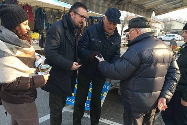 Matteo Piloni (Pd) fa tappa a Vaiano cremasco e visita la cooperativa di Fiesco 'Lo Scricciolo'