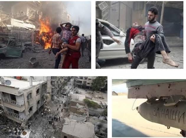 Amnesty. I bombardamenti in Siria sono crimini di guerra