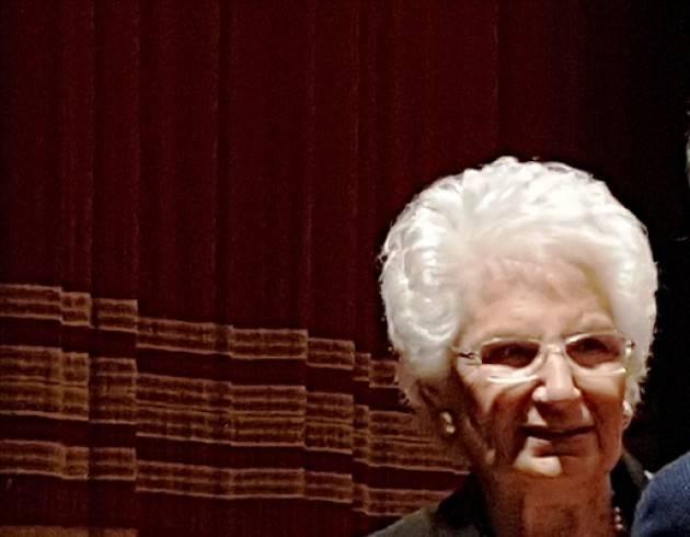 L'ECOSTORIA Grazie, Senatrice Liliana Segre