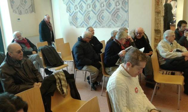 (Video) A Cremona Per Liberi e Uguali  Antonio Panzeri ha parlato sul tema La Sinistra in Italia e in Europa