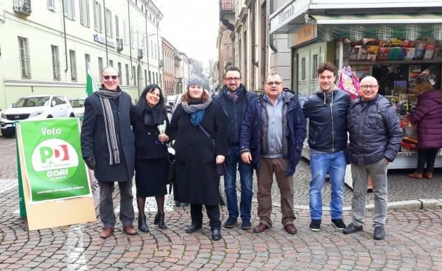 Nella giornata 'Mai più fascismi-Mai più razzismi', Matteo Piloni (Pd) continua il tour con tappa a Casalmaggiore ed a Vaiano