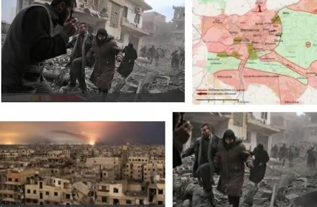 Amnesty Siria L'ONU deve garantire ai civili della GHUTA ORIENTALE immediata assistenza umanitaria
