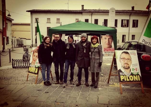Matteo Piloni (Pd) Continua il suoi tour nei comuni del cremasco