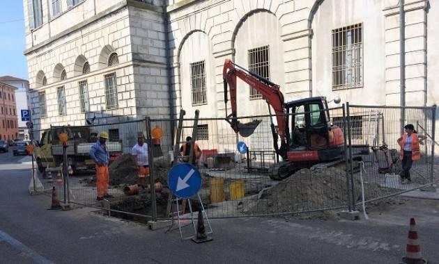 Cremona, Padania Acque : da giovedì 1 marzo cantiere in via Dante per manutenzione alla rete fognaria