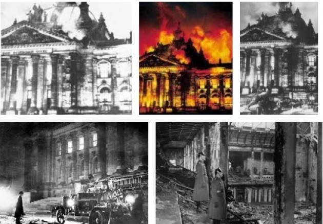 AccaddeOggi 28 febbraio 1933 – In Germania viene approvato il Decreto dell'incendio del Reichstag