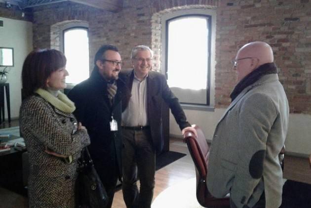 Matteo Piloni (Pd) Pochi giorni al voto. Visita a Bagnolo Cremasco  e Cremona