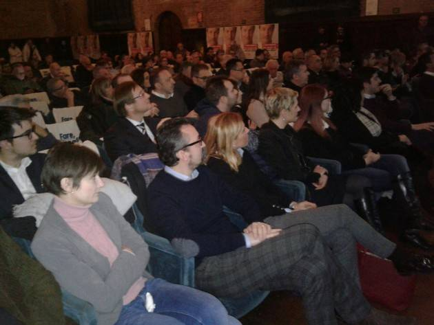 Giorgio Gori (Pd-centro sinistra ) candidato Governatore Lombardia, 'scalda'  il Cittanova