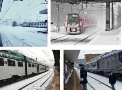 Il motore dell'Europa, la Lombardia, non più sospendere i treni quando nevica di Barbara Meggetto