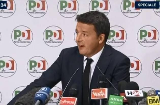 #Elezioni2018. Renzi dovrebbe dimettersi senza indugio di Elia Sciacca (Cremona)