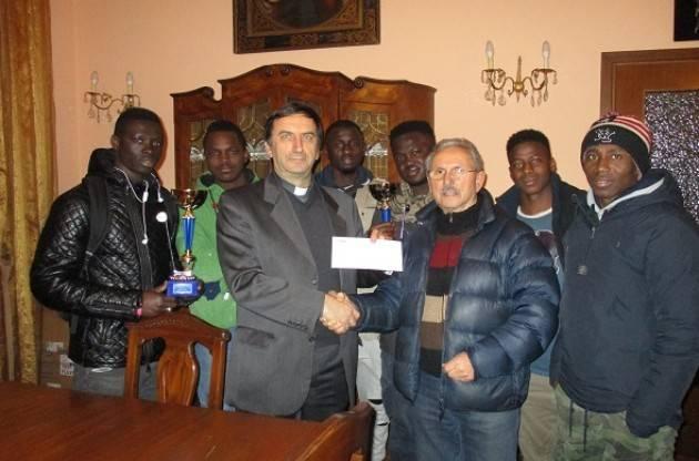 UISP  Cremona Consegna Contributo a Caritas a Torneo Amicizia