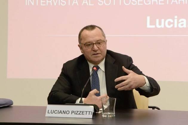 Luciano Pizzetti, dopo la sconfitta ora il PD starà all'opposizione