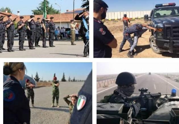 AISE IRAQ: CARABINIERI DELLA TASK FORCE POLICE FORMANO LA POLIZIA IRACHENA