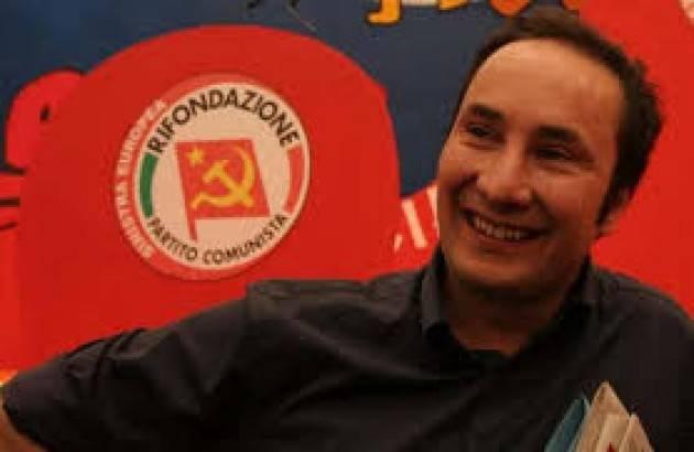#Elezioni2018 Acerbo (Prc): 'Sconfitta di Pd e Berlusconi assai positiva'.