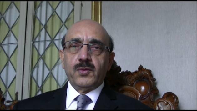 (Video) Cremona Appello di SARDAR MASOOD KHAN in per l'autodeterminazione del Kashmr