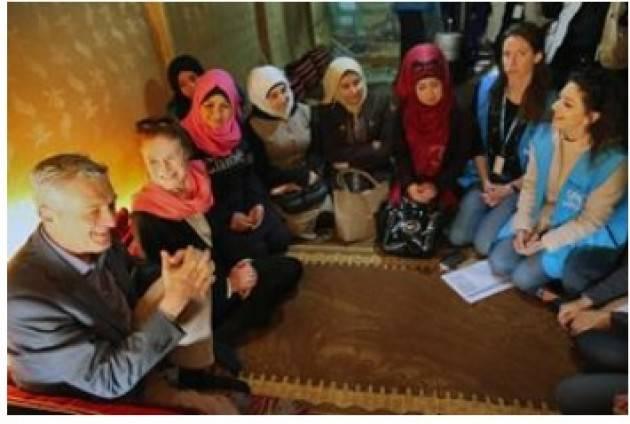 AISE 8 Marzo LEADER UNICEF E UNHCR IN LIBANO TRA LE DONNE E LE BAMBINE RIFUGIATE SIRIANE