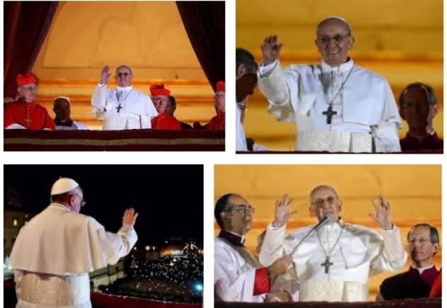AccaddeOggi 13 marzo  2013  Jorge Mario Bergoglio eletto papa con il nome di Francesco.