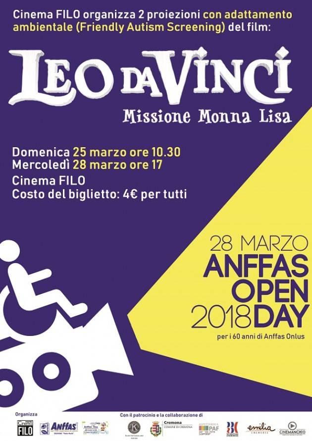 CREMONA  Anffas Open Day 2018 60 anni di Anffas Onlus il 25 ed il 28 marzo