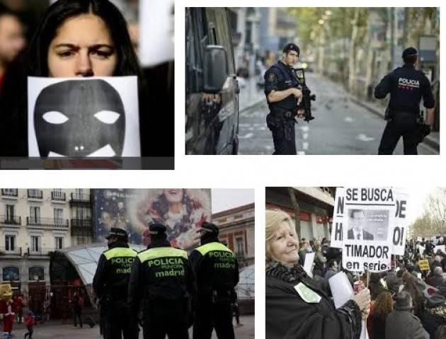 Amnesty Spagna La legge antiterrorismo viene usata per stroncare la satira on line