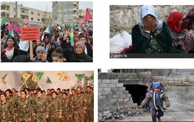 Arci Fermare il massacro ad Afrin