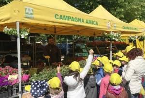 Coldiretti Anticipo di primavera : Domenica  18/3 al Mercato di Campagna Amica a Crema