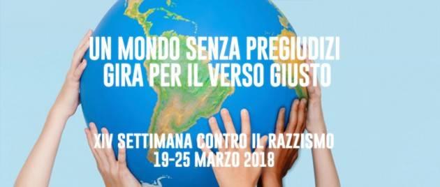 Cremona XIV SETTIMANA D'AZIONE CONTRO IL RAZZISMO  19-25 MARZO 2018