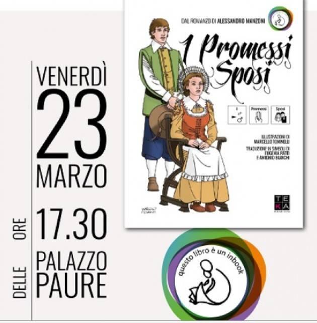Lecco Venerdì 23 marzo la presentazione de 'I Promessi Sposi Inbook'