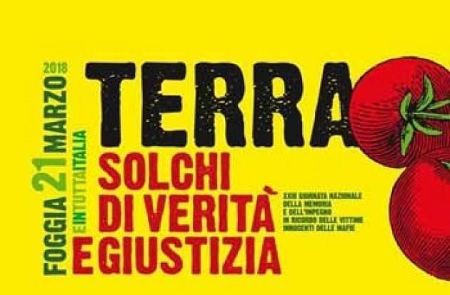 A Mantova   la 23°edizione della Giornata della Memoria contro le mafie Pulman da Cremona