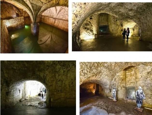 Bergamo sotterranea e dall'alto riaprono dal 31 marzo Torre di Gombito, Cannoniere e Fontana del Lantro