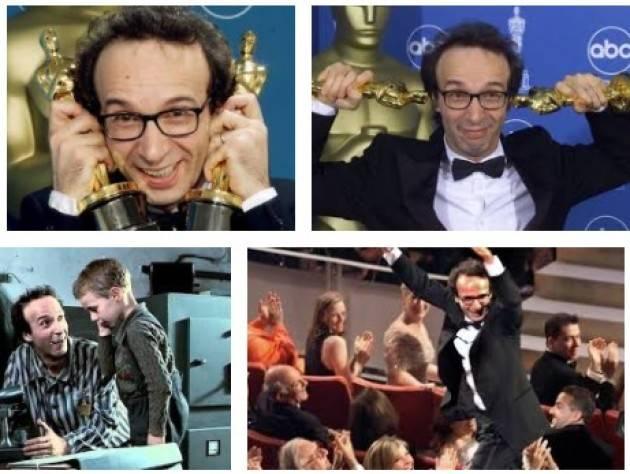 AccaddeOggi 21 marzo 1999 – Roberto Benigni vince l'Oscar con 'La vita è bella'