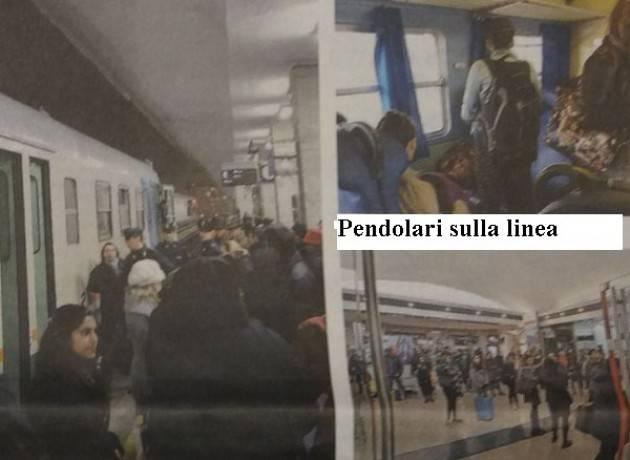 I PENDOLARI DELLA LINEA CREMONA-BRESCIA  subiscono ritardi e cancellazioni in continuo di Attilia Cantarelli