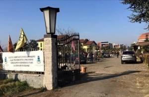 Studenti del Romani di Casalmaggiore  in visita al un bene confiscato alla mafia con lo SPI-CGIL