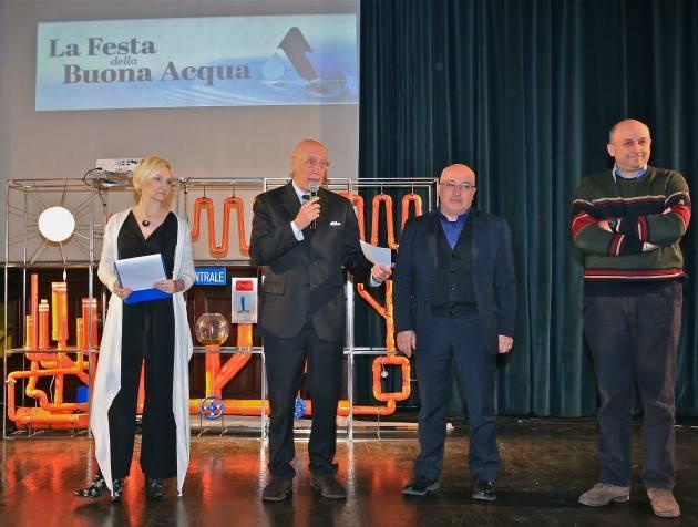 (Video) Padania Acque S.p.A.: La 'Settimana della Buona Acqua' fa tappa a Palazzo Cittanova a Cremona