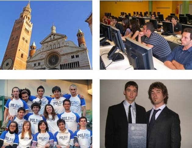 Studiare al Politecnico di Milano a Cremona Open Day - Martedì 10 Aprile 2018