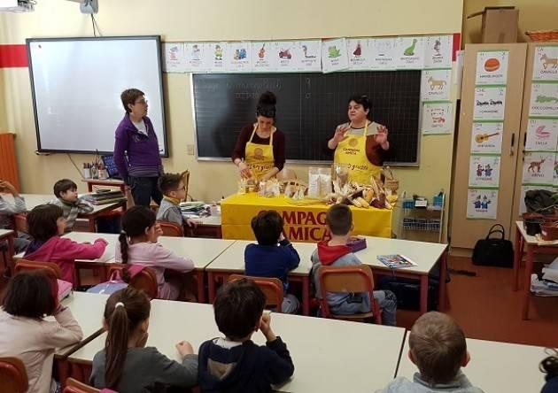 Coldiretti Cremona: Proseguono gli incontri tra i bambini e gli agricoltori con 'La Campagna nel mio piatto'