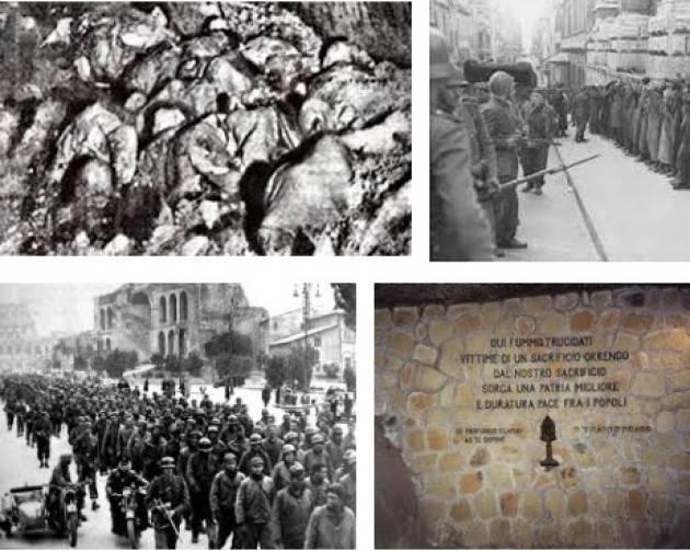 #AccaddeOggi 24 marzo 1944 Roma Eccidio delle Fosse Ardeatine