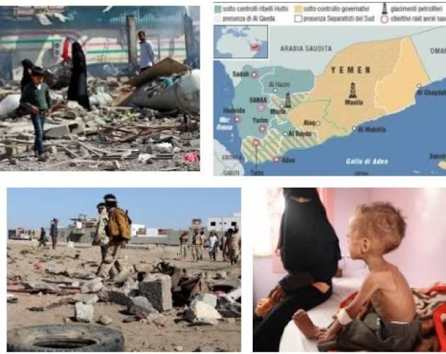 Amnesty ed altri Il nuovo Parlamento sospenda l'invio di armi  che alimentano il conflitto in Yemen