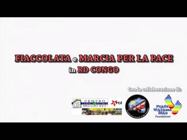 (Video) La Tavola della Pace di Cremona partecipa il 21 aprile a Reggio Emilia  alla fiaccolata pro popolo congolese
