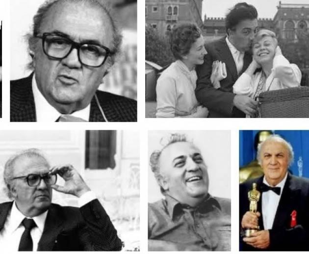 #AccaddeOggi  9 aprile 1975 - Los Angeles: Federico Fellini vince il suo quarto Oscar con il film Amarcord