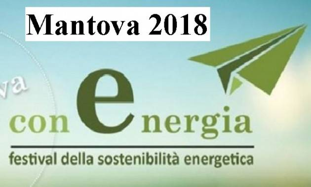 FESTIVAL conENERGIA a Mantova il 20 e 21 aprile