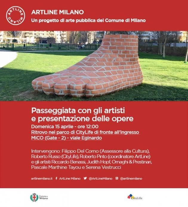 Domenica 15 aprile l'artista cremonese Riccardo Benassi presenta nel parco CityLife la sua opera Daily Desiderio