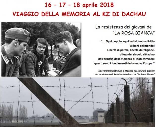 Cremona  VIAGGIO DELLA MEMORIA 16/17/18 APRILE 2018 AL VIA