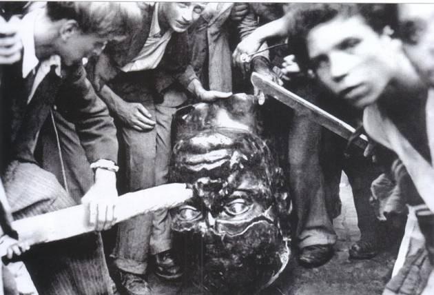 L'ECOSTORIA  (ancora) sull'operazione di revoca della 'cittadinanza onoraria' di Mussolini
