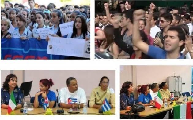 Studenti lecchesi in visita a Cuba Riproposto il progetto di scambio scolastico