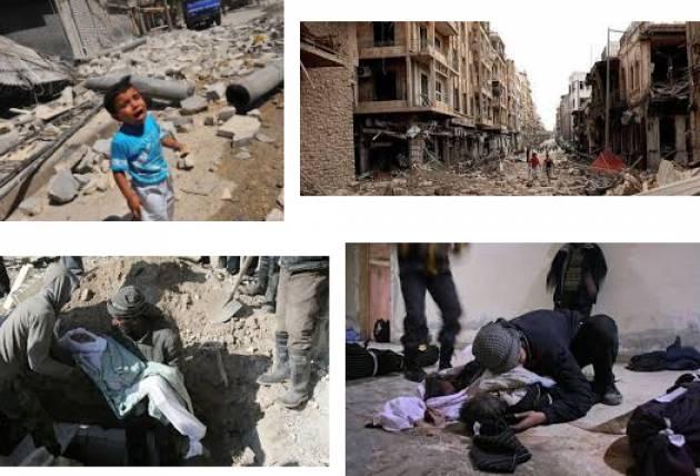 Siria 'FERMATEVI' UNA LETTERA APERTA  Organizziamo 'piazze della pace' di franco Bordo